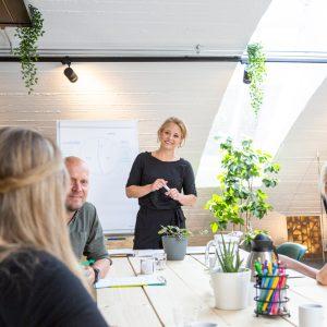 Presentatieruimte in De Boog Coworkingspace Nijmegen