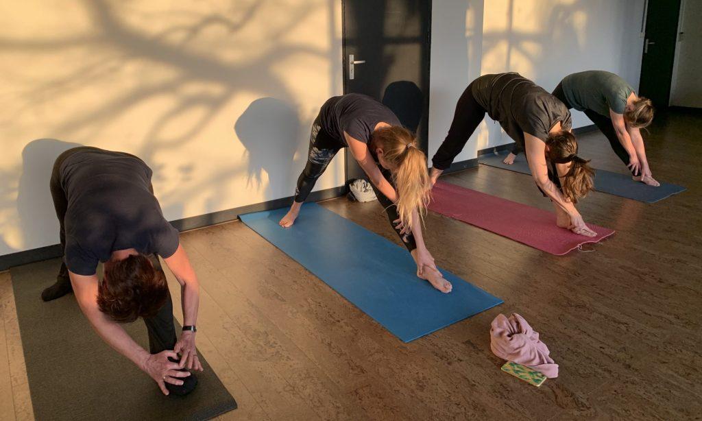 Yoga in de Splendorfabriek Nijmegen.